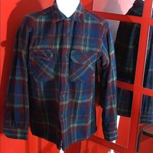 Pendleton Vintage Flannel Shirt